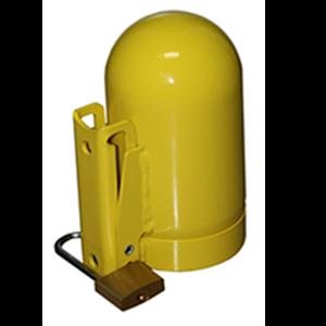 SAFTCART SC2FNNP-12 Cylinder Locking Cap, Fine Thread, Thread Size 3.125 x 11 UN | CE2HBW