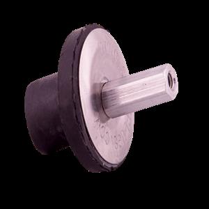 SHAW PLUGS 68000 Expansion Plug Thumb Nut 1/4 In | AF2MKL 6VFV3