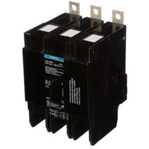 SIEMENS BQD380 Bolt On Circuit Breaker Bqd 80 Amp 480vac 3p 14kaic@480v   AG8MFH
