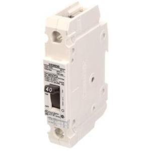 SIEMENS CQD140 Circuit Breaker Feed-thru 40 Amp 277vac 1p 14kaic@277v | AG8MPJ