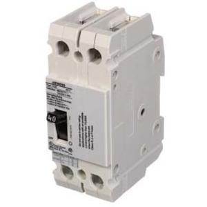 SIEMENS CQD240 Circuit Breaker Feed-thru 40 Amp 480vac 2p 14kaic@480v | AG8MPV