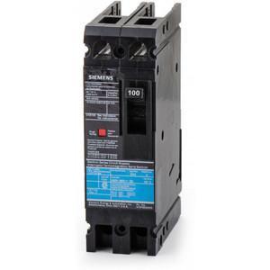 SIEMENS ED42S100A Bolt On Circuit Breaker Ed 100 Amp 480vac 2p 18kaic@240v | AG8MVA