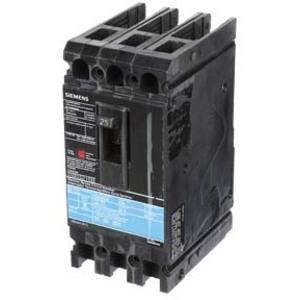 SIEMENS ED43B025 Bolt On Circuit Breaker Ed 25 Amp 480vac 3p 18kaic@480v | AG8MVD