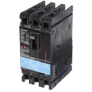 SIEMENS ED43B040 Bolt On Circuit Breaker Ed 40 Amp 480vac 3p 18kaic@480v | AG8MVG