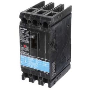 SIEMENS ED43B050 Bolt-On Circuit Breaker, ED, 50 A, 480VAC, 3P, 18kAIC@480V | AG8MVJ