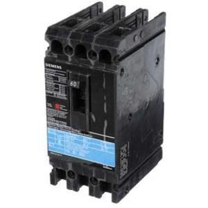 SIEMENS ED43B060 Bolt On Circuit Breaker Ed 60 Amp 480vac 3p 18kaic@480v | AG8MVK