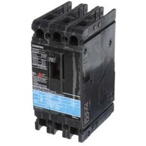 SIEMENS ED43B070 Bolt On Circuit Breaker Ed 70 Amp 480vac 3p 18kaic@480v | AG8MVL
