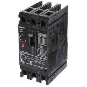 SIEMENS ED63A050 Bolt On Circuit Breaker Ed 50 Amp 600vac 3p 25kaic@480v   AG8MVU