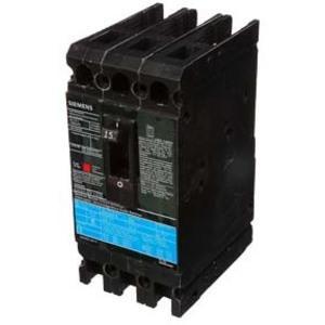 SIEMENS ED63B015 Bolt On Circuit Breaker Ed 15 Amp 600vac 3p 25kaic@480v | AG8MVX