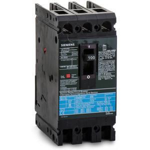 SIEMENS ED63B110 Bolt On Circuit Breaker Ed 110 Amp 600vac 3p 25kaic@480v | AG8MWL