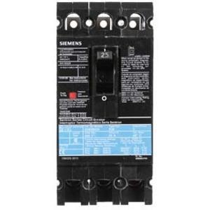 SIEMENS ED63B025 Bolt-On Circuit Breaker, 25Amps, 600VAC, 25KAIC at 480V | AG8MVZ