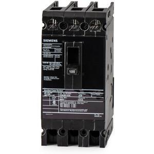 SIEMENS ED63S100A Bolt On Circuit Breaker Ed 100 Amp 600vac 3p 25kaic@480v   AG8MWR