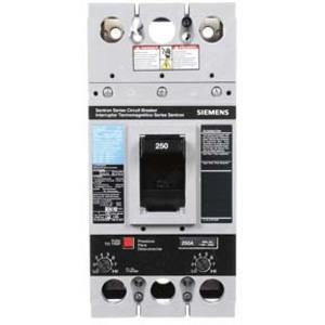 SIEMENS FXD62B250 Bolt On Circuit Breaker Fxd 250 Amp 600vac 2p 35kaic@480v   AG8NTQ