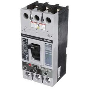 SIEMENS FXD63A250 Bolt-on Circuit Breaker, FXD, 250 A, 600 VAC, 3 P, 35 kAIC @ 480V | AG8NTT
