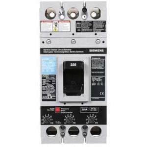 SIEMENS FXD63B225 Bolt On Circuit Breaker Fxd 225 Amp 600vac 3p 35kaic@480v | AG8NUD