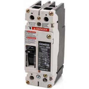SIEMENS HEB2B035B Bolt On Circuit Breaker Heb 35 Amp 600vac 2p 65kaic@480v | AG8PBG