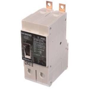 SIEMENS HGB2B015B Circuit Breaker, 15 A, 480VAC, 2P | AG8PGU