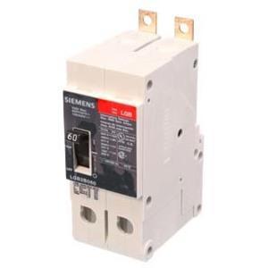 SIEMENS LGB2B060B Bolt On Circuit Breaker Lgb 60 Amp 480vac 2p | AG8RGD