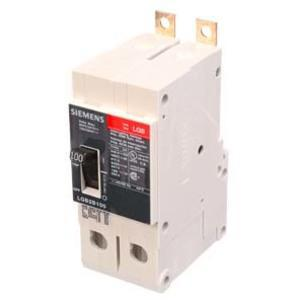 SIEMENS LGB2B100B Bolt On Circuit Breaker Lgb 100 Amp 480vac 2p | AG8RGH