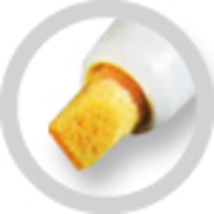 SUPER MET-AL 201-NC Replacement Chisel Fiber Nib, 4 mm Tip Size | AJ8CEV