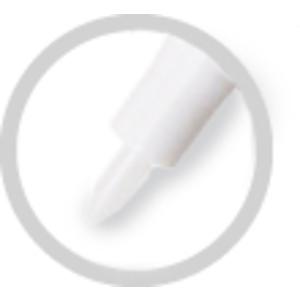 SUPER MET-AL 81000 Replacement Fine Line Nylon Nib, 1 mm Tip Size | AJ8CNC