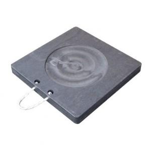 TUFFTRAK SAFET TTOS50X5BL Outrigger Pad, 500 x 500 x 50 mm   CF4EZV
